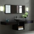 "V-BLOX-SH20DW - BLOX Bathroom Vanity - 20"" Shelf Dark Walnut - Xylem"
