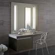 24 Inch W Deep Vanity with Night Light in Satin Bronze. – VD24BCL12