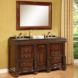 B&I Direct 60'' Bathroom Vanity Bradford 1310AS
