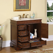 silkroad exclusive single 36 Inch Bathroom Vanity hyp 0212 36