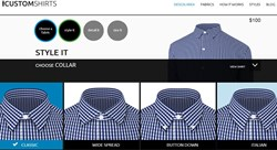 Dress shirt design area