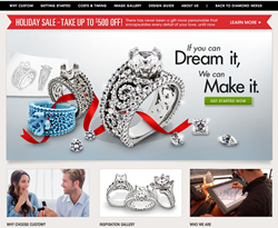 man made, diamond simulant, affordable, jewelry, custom, jewelry, nexus design studio, new, website