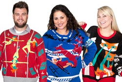 Ugly Holiday Sweaters from Stupid.com
