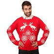 Pooping Moose Ugly Holiday Sweater from Stupid.com