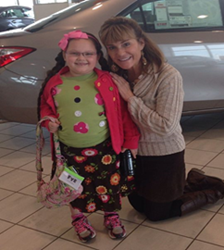Kayleah at Evans Toyota
