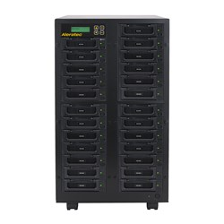 Aleratec-1-to--24-HDD-Copy-Cruiser-IDE-SATA-High-Speed-hard-disk-drive-duplicator-sanitizer-350133
