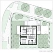 Third Floor floor plan of Green Lake Passive House.