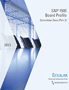 S&P 1500 Board Profile - Committee Fees (Pt 2)