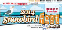 2014 Snowbird Fest January Event on the Gulf Coast