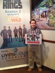 North Carolina 5th Grader Selected for Special Recognition in Rocket21 Nat Geo WILD Fish Tank Kings Contest