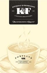 New K&F Coffee Packaging