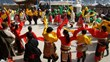 Tibetan people are celebrating their new year.
