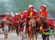 Horse Race is the major activity on Gyantse Damar Festival.