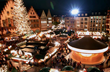 Seasonal Christmas Markets in Germany are filled with thousands of illuminated lights and ornaments.