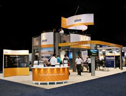 Double Decker Display for Array Technologies