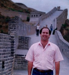 Mike Shaw at the Great Wall