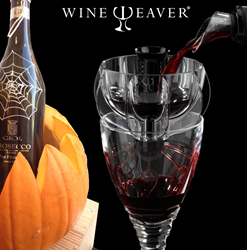 Halloween Party Ideas from WineWeaver Wine Aerators - Pumpkin Wine Cooler