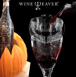 Halloween Party Ideas from WineWeaver Wine Aerators - Pumpkin Wine Cooler