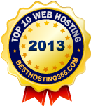 2013 Top 10 Web Hosting