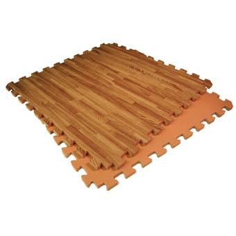 Greatmats Introduces New Wood Grain Reversible Foam Tiles