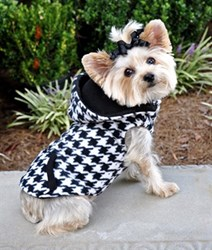 black-and-white-houndstooth-dog-hoodie-and-vest-combo