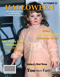 YourCover Personalized Halloween Magazine Cover
