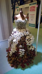 Todich Floral Design National Wedding Show Floral Dress