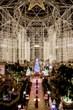 Gaylord Texan's 4.5 acres of lavishly decorated indoor gardens.