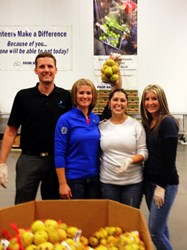 FirstService Residential Volunteers at Northern Nevada Food Bank