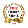 Rental magazine Reveals Winners of the 2013 Editor's Choice Awards