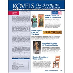kovels, antiques, collectibles, robots, advertising, shaker, kitchen, bronze, new uses