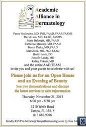 Tampa Dermatology, dermatological services