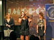 Comedy Gives Back Founders Zoe Friedman, Amber J Lawson, Jodi Lieberman at 2011 Event