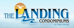 The Landing Condominiums Logo Luxury Condos Milwaukee