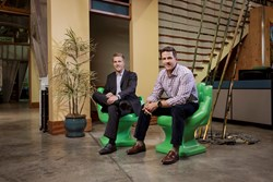 HUMAN Co-Founders Sean Kelly (left) and Andy Mackensen (right)