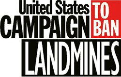 Logo for the U.S. Campaign to Ban Landmines