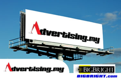 Malaysia Facade lighting advertising