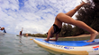 SUP yoga is a favorite among guests.