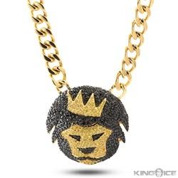 King Ice Magnus Lion Chain