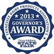 Tennessee Dairy Products Association's 2013 Governor's Award