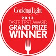 Cooking Light 2013 Taste Test Award Grand Prize Winner