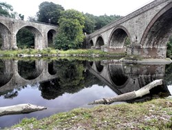 Listen to the history of the North Esk Bridges?