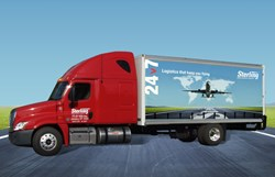 Sterling's priority ground logistics service