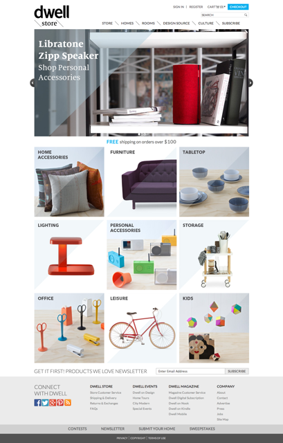 dwell media launches dwell store