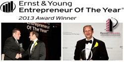 Ernst and Young Entrepreneur of the Year Award Winner 2013- Planned Companies