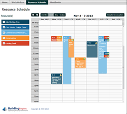 Building Engines' Resource Schedule Manager