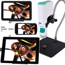 Explorer Digital WiFi Camera with iPad, iPhone and tablet pc