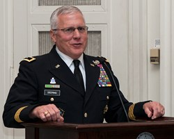 Major General Myles Deering will be a keynote speaker at the conference.