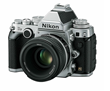 Nikon Df DSLR Camera with 50mm F1.8 Lens - Silver - B&H Photo Video