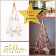 Giveaway Contest for Modern Wood Christmas Tree